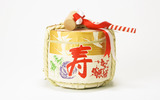 Japanese New Year and cultural material 7555