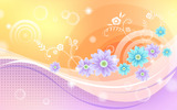 Colorful wallpaper pattern 5208
