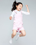 Happy people jumping material 12821