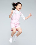 Happy people jumping material 13061
