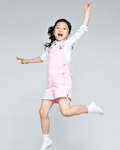 Happy people jumping material 13141