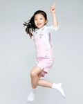 Happy people jumping material 13220