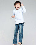 Happy people jumping material 13378