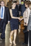 Princess Letizia at the Luca de Tena Foundation Anniversary Concert 33442