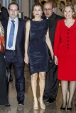 Princess Letizia at the Luca de Tena Foundation Anniversary Concert 33474