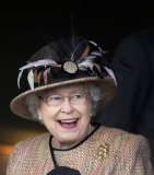 Queen Elizabeth II Wins Big at the Newbury Races 33653