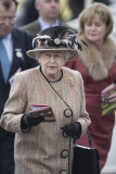 Queen Elizabeth II Wins Big at the Newbury Races 33688