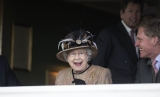 Queen Elizabeth II Wins Big at the Newbury Races 33693