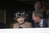 Queen Elizabeth II Wins Big at the Newbury Races 33704