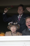 Queen Elizabeth II Wins Big at the Newbury Races 33716