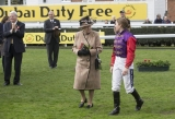 Queen Elizabeth II Wins Big at the Newbury Races 33750