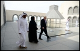 Boris Johnson Visits the Camel Races in Doha 33808