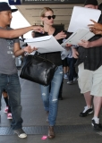 January Jones Arrives in LA 34082