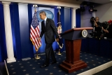 President Obama Delivers Remarks On Capture Of Alleged Boston Marathon Bomber 34566