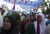 Nomination Day Is Held Ahead of Malaysia's General Election 34741