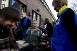 Bahnhofsmission Homeless Kitchen Holds Street Fest Fundraiser 35039