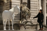 The British Council Unveils Artist Mark Wallinger's The White Horse Sculpture... 35094