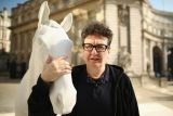 The British Council Unveils Artist Mark Wallinger's The White Horse Sculpture... 35097