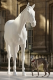 The British Council Unveils Artist Mark Wallinger's The White Horse Sculpture... 35099