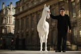 The British Council Unveils Artist Mark Wallinger's The White Horse Sculpture... 35108