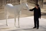 The British Council Unveils Artist Mark Wallinger's The White Horse Sculpture... 35114