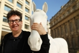 The British Council Unveils Artist Mark Wallinger's The White Horse Sculpture... 35117