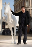 The British Council Unveils Artist Mark Wallinger's The White Horse Sculpture... 35127