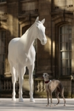 The British Council Unveils Artist Mark Wallinger's The White Horse Sculpture... 35144