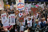 Thousands Of Demonstrators March Through Stafford To Save Stafford Hospital F... 35374