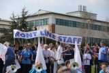 Thousands Of Demonstrators March Through Stafford To Save Stafford Hospital F... 35400