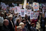 Thousands Of Demonstrators March Through Stafford To Save Stafford Hospital F... 35405