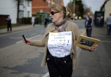 Thousands Of Demonstrators March Through Stafford To Save Stafford Hospital F... 35418