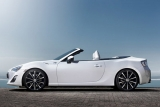 Toyota releases convertible concept of GT86 ahead of Geneva 35436