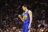 Golden State Warriors escape collapsed, Klay Thompson's 34 point ride to win the San Antonio Spurs 35459