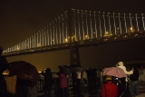 World's Largest LED Light Sculpture Lights Up The Bay Bridge 35535