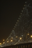 World's Largest LED Light Sculpture Lights Up The Bay Bridge 35573