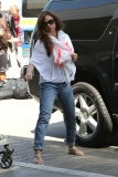 Nick Lachey and Vanessa Minnillo Leave LA 35606