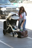 Nick Lachey and Vanessa Minnillo Leave LA 35611