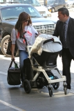 Nick Lachey and Vanessa Minnillo Leave LA 35634