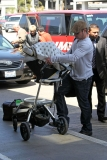 Nick Lachey and Vanessa Minnillo Leave LA 35674