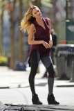 Candice Swanepoel Poses in NYC 35765