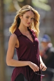 Candice Swanepoel Poses in NYC 35774