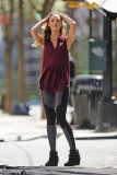 Candice Swanepoel Poses in NYC 35792