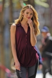 Candice Swanepoel Poses in NYC 35804