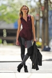 Candice Swanepoel Poses in NYC 35824