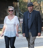 Britney Spears & David Lucado Go On A Dinner Date 36053