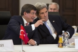 John Kerry Makes Visit To Turkey For Syria Meeting 36107