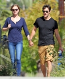 Emily Van Camp & Josh Bowman Lunch Together  36192
