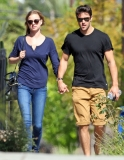 Emily Van Camp & Josh Bowman Lunch Together  36209