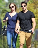 Emily Van Camp & Josh Bowman Lunch Together  36227